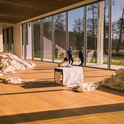Museum Voorlinden: 3360 kms of fenced border