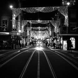 Utrechtsestraat Amsterdam Night vision.