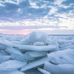 Kruiend ijs Hoorn