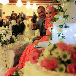 Taart op de bruiloft :)