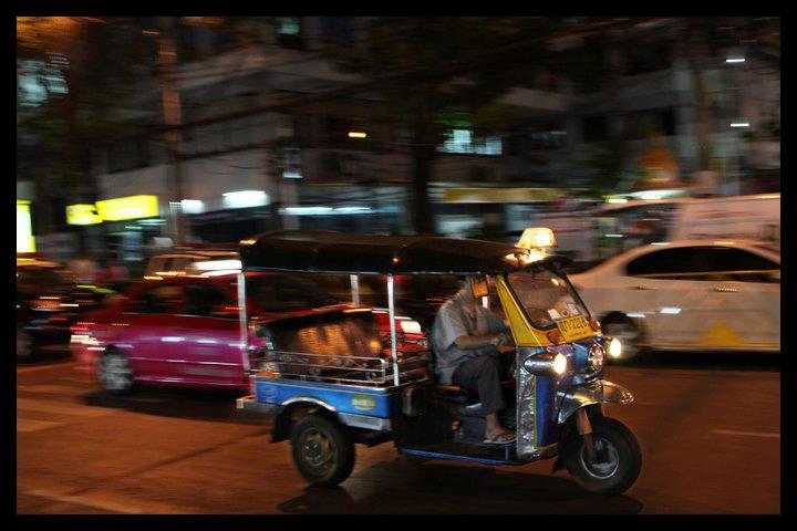 Bangkok - Beweging in Bangkok!