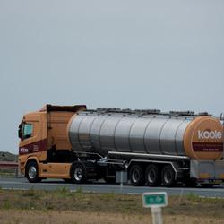 Scania Nur fur Lebensmittel.
