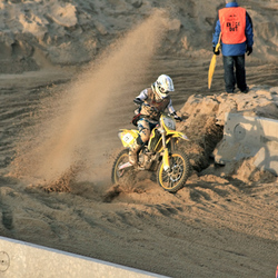 De winnaar van Redbull Motocross 08
