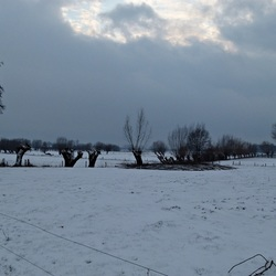 Naderende sneeuwbuien