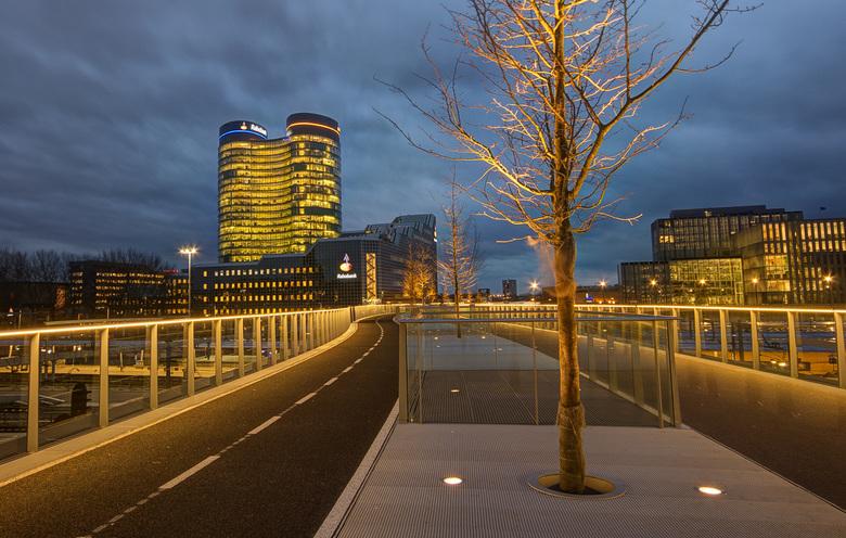Utrecht -  Moreelsebrug - Rabo bank - de Verrekijker - Utrecht -  Moreelsebrug - Rabo bank - de Verrekijker