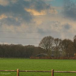 Boeren landschap