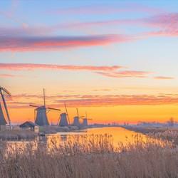 Mondaymorning in Kinderdijk