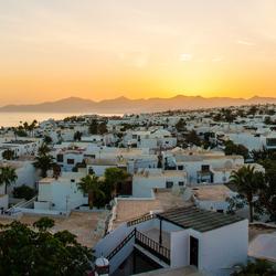 Lanzarote hotel uitzicht
