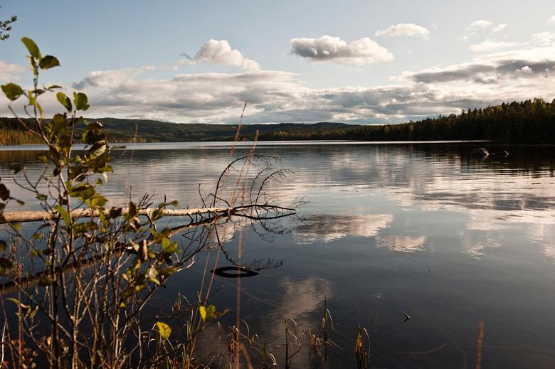 Zweeds meer - Eén van de vele Zweedse meren