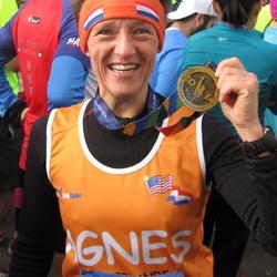 Medaille New York Marathon 2014