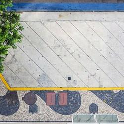 Trottoir abstract