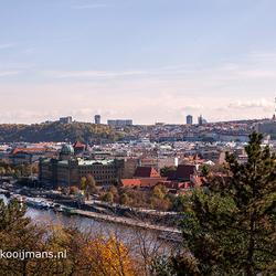 Overzicht over de stad Praag