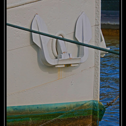 white anchor