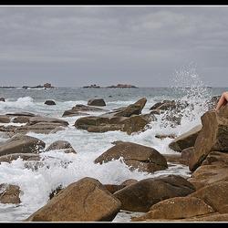 Bruisend zeewater