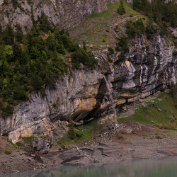 Waterval oeschinensee