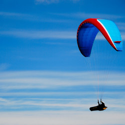 Gliding away