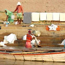 De was doen in de Ganges