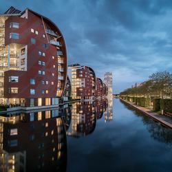 Architectuur in het Paleiskwartier van Den Bosch