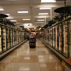 Bewerking: Diepte supermarkt