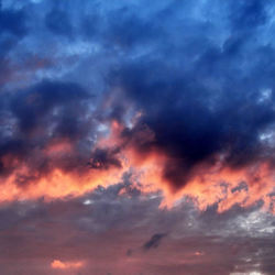 Een mooie wolken