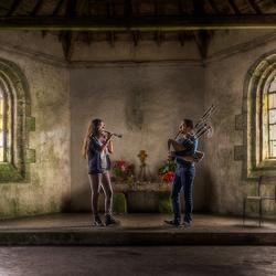 Bretonse muziek in de Chapelle Saint-Michel