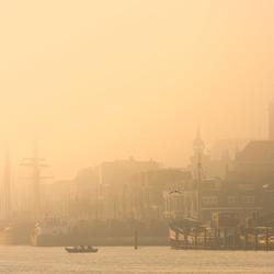 Kampen in de mist