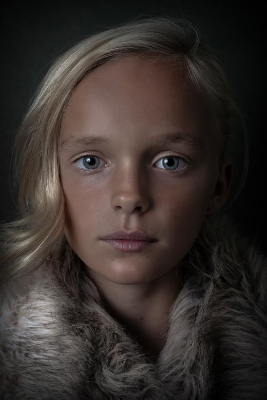 Natural beauty - Naturel portret van model Emma