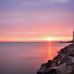 The lighthouse of Marken