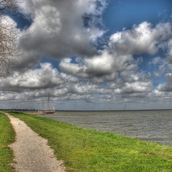 HDR fotografie haven medemblik