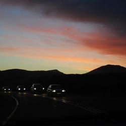 Zuid Afrikaanse zonsondergang