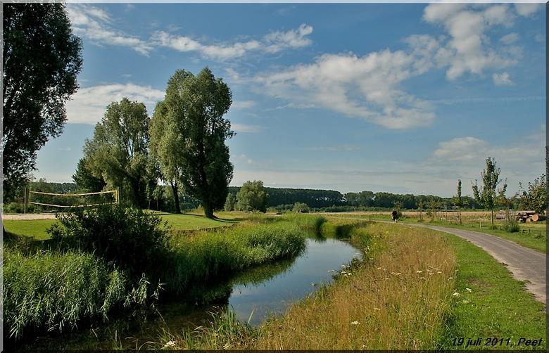 Andelst - Een foto gemaakt tijdens de vierdaagse, hier is het gat van hagen een heel mooi recreatie gebied.