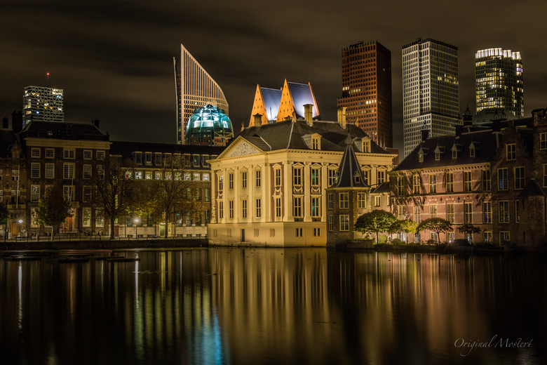 The Hague by Night, Mauritshuis - The Hague by Night, Mauritshuis