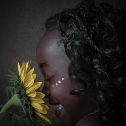 Lachende bloem