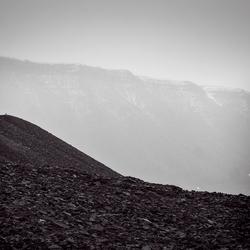 oude mijn in Longyearbyen