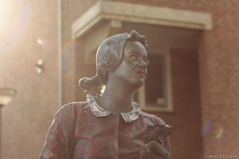 Living Statues - Een van de vele standbeelden tijdens het evenement World Statues in Arnhem!