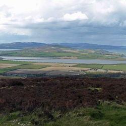 landschap noordkust van Donegal, Ierland