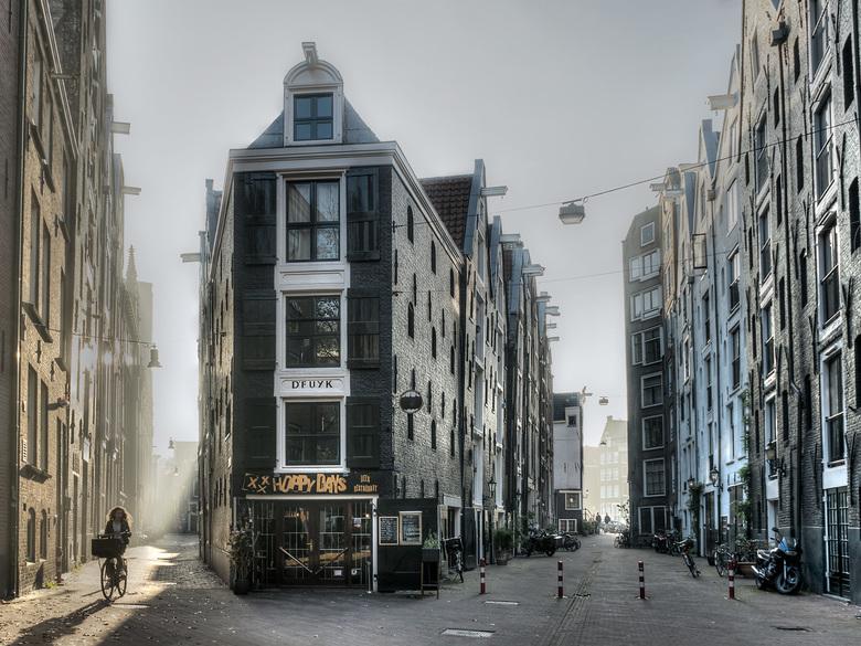 Misty Amsterdam - Een mistige zondag in Amsterdam.....