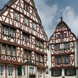 Het historische marktplein van BernKastel, foto 2.