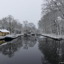 Het haventje van Slochteren