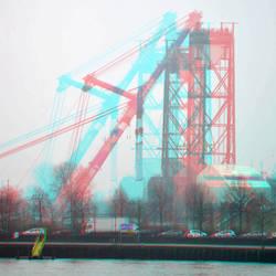 het Val terug in Rotterdam 3D