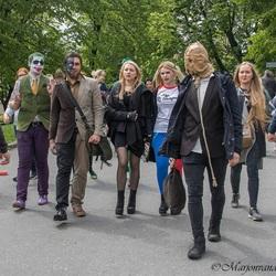 Juwenalia Studentendag in Krakau