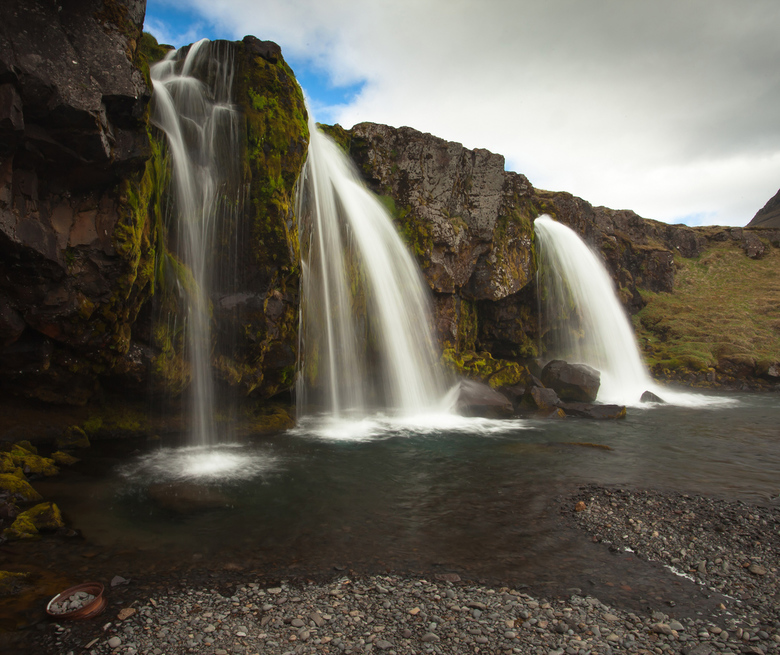 waterkracht II - Een van de vele watervallen in IJsland