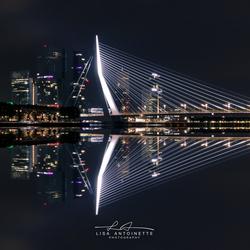 Rotterdam Erasmusbrug.
