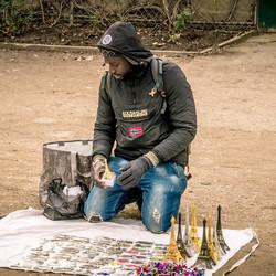 le vendeur de Paris