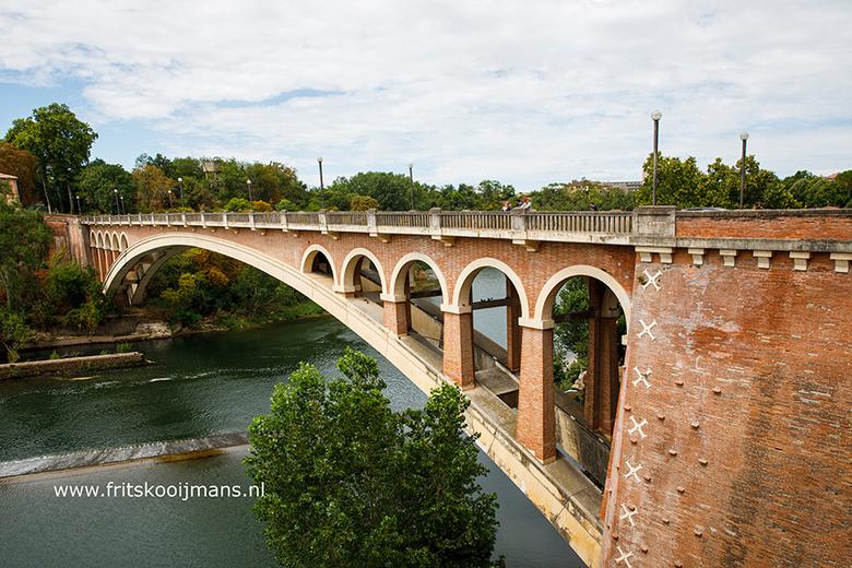 De brug over de Tarn bij Gaillac - 20200802 7796 De brug over de Tarn bij Gaillac