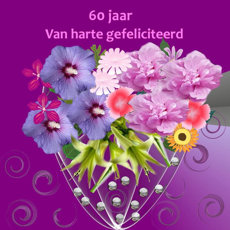 gefeliciteerd 60 jaar gefeliciteerd 60 jaar | Bewerkte fotografie foto van g | Zoom.nl gefeliciteerd 60 jaar
