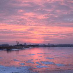 zonsopgang vogeltjesmeer