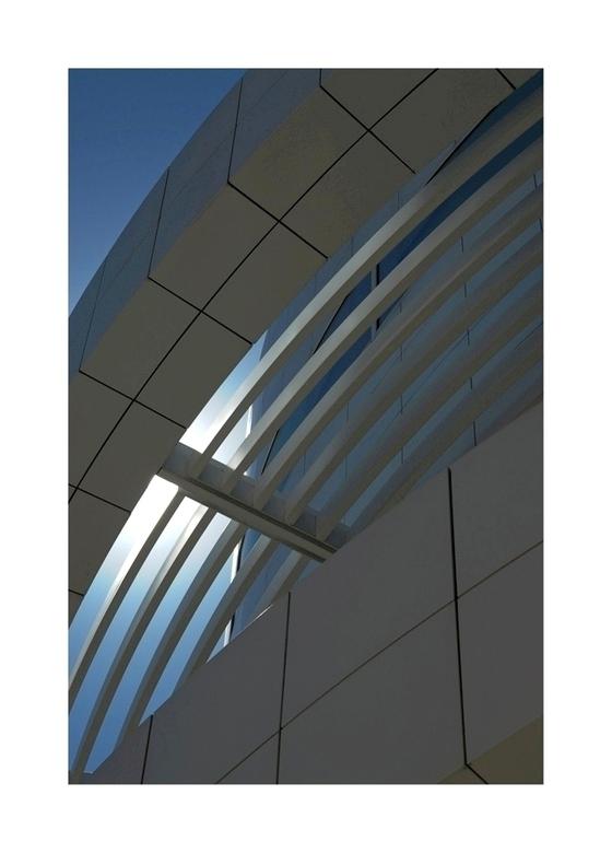 Getty Center 03 - Architectuur in Los Angeles