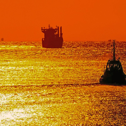 Noordzee blik (Maasvlakte)