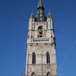 Het Belfort in Gent